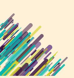 Retro abstract design vector