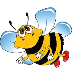 Bumble bee cartoon vector