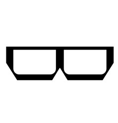 glasses and sunglasses vector image
