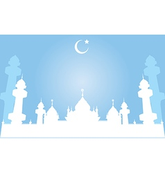 Jamiah mosque in pattani thailand vector