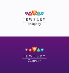 Jewelry company logo 02 vector