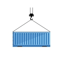 Cargo or shipping container vector image