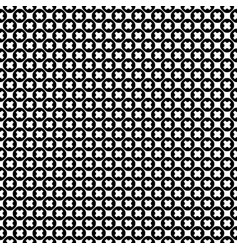 Seamless x pattern crosses circles vector