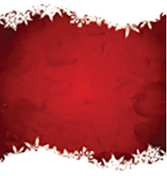 Grunge christmas snowflake background 3110 vector image
