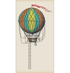 Old Air Balloon vector image
