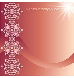 Decorative cover template eleven vector