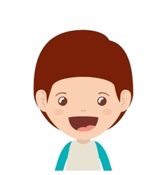 boy cartoon design vector image