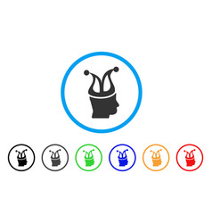 Joker icon vector