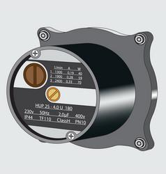 Aquatic pump vector