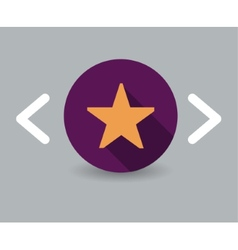 Star icon vector