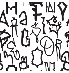 Graffiti background seamless pattern vector