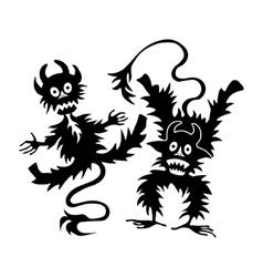 Halloween set of vector image