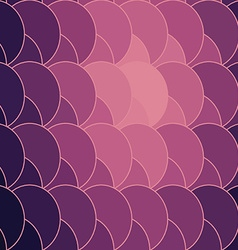 abstract geometry circle backdrop vector image vector image