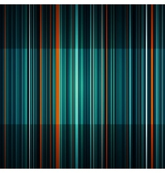 Abstract striped orange and green background vector