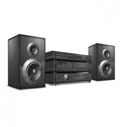 audio system hi-fi vector image vector image