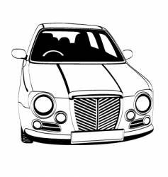English car vector image