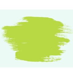 Green paint brush bg vector