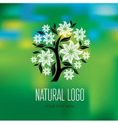 Natiral logo 08 vector