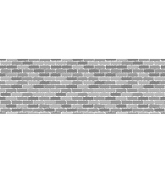 Seamless of gray brick vector image vector image