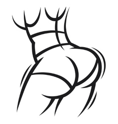 Twerk and booty dance for dancing vector image