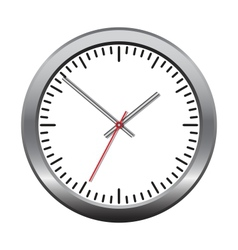 Wall mechanical clock vector image
