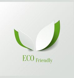 Eco friendly background vector