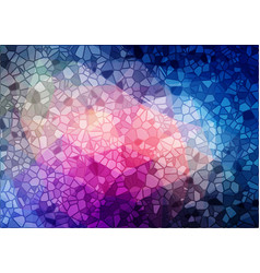 Bright mulicolor mosaic background vector