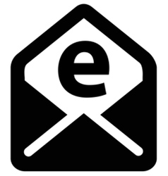 Email Letter Icon vector image