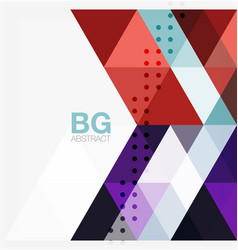 modern geometry background vector image vector image