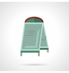 Sandwich board flat icon vector image
