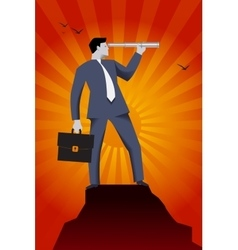 Searching for new opportunities business concept vector