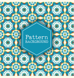 Retro pattern background vector