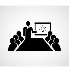 Presenting Idea vector image vector image