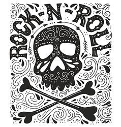Rock-n-roll poster vector