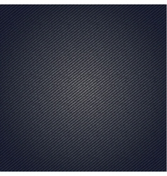 Striped fabric surface for blue background vector image