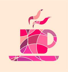 coffee or tea cup vector image