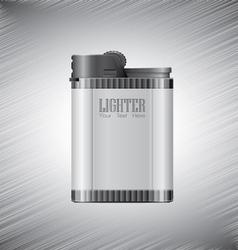 Lighter metallic vector