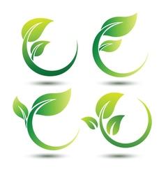 Green labels2 vector