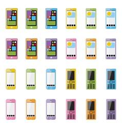Blank smartphone vector image vector image