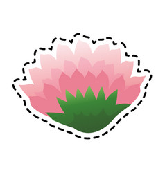 flower icon image vector image vector image