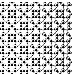 Ornate seamless pattern traditional motif vector