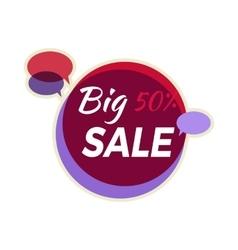 Sale Sticker in Flat Design vector image
