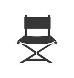 Chair director cinema vector