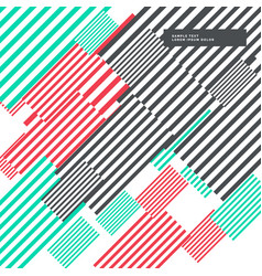 Colorful abstract stripes background modern design vector
