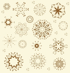 Floral Ornament Pattern vector image vector image