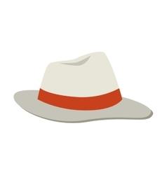 hat cap summer icon graphic vector image