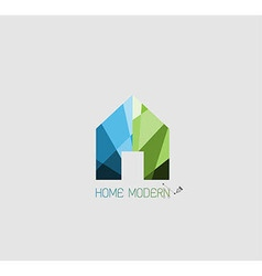 Home logo for concept modern vector image vector image