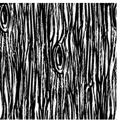 ink hand drawn abstract wood seamless pattern vector image