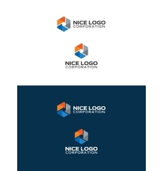 Oil and gas industry logo vector