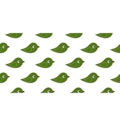 Seamless icon birds vector